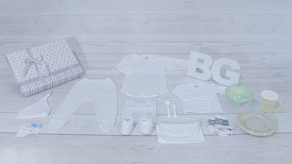 Regalos de Nacimiento para empresas - Ajuar rectangular N4