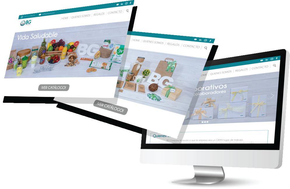 Plataformas Web de regalos Empresariales