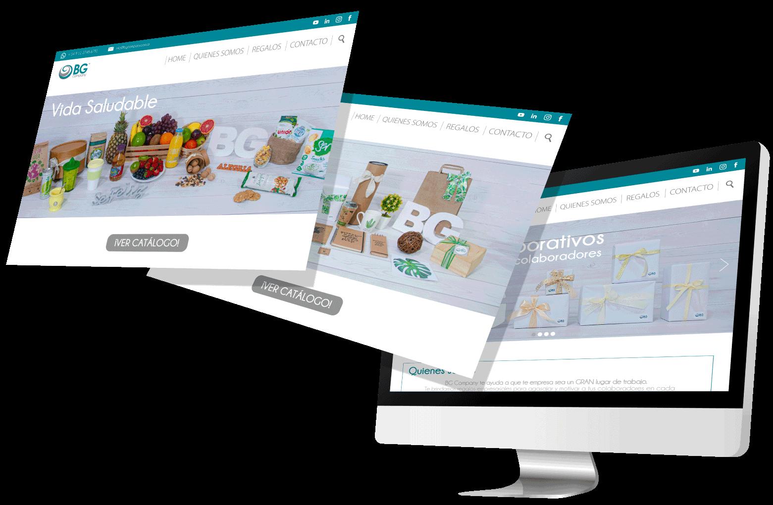 Plataformas web BG Company